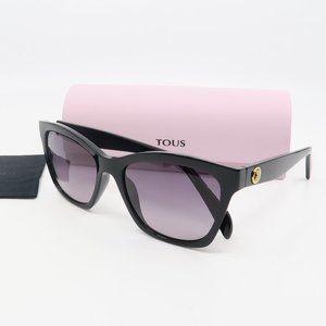 STO996 Z42K Tous Black/ Gray Gradient Sunglasses